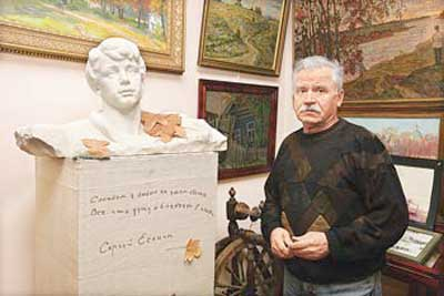 Никоненко С.П. в музее