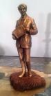Презентация бронзовой статуэтки С. Есенина