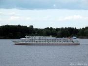 Первый круговой рейс круизного пассажирского судна «Сергей Есенин» после модернизации