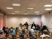 В библиотеке № 160 прошёл литературно-музыкальный вечер, посвящённый творчеству Сергея Есенина