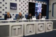 В ТАСС состоялась презентация книги Захара Прилепина «Есенин: Обещая встречу впереди»