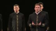 С концертной программой «Есенин» в Астрахани выступил уникальный хор Валаамского монастыря