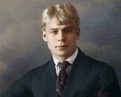 Сергей Есенин возглавил список самых популярных поэтов у россиян