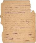 На аукционе продадут рукописное посвящение Есенина рязанской деревне